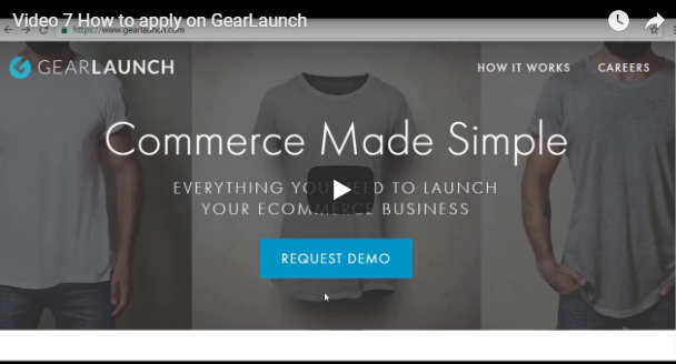 HOW TO APPLY ON GEARLAUNCH